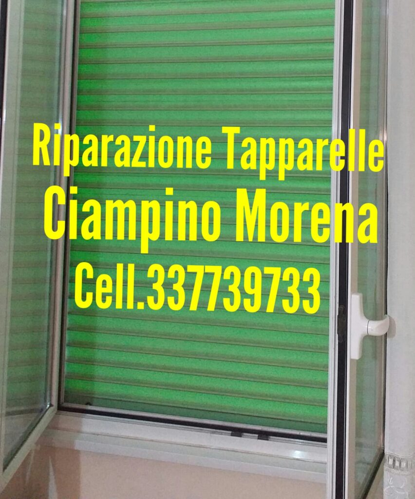 Riparazione Tapparelle Serrande Ciampino