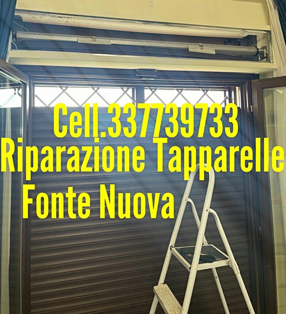 Riparazione Tapparelle Serrande Avvolgibili Elettriche FONTE NUOVA cell. 337739733 Dario