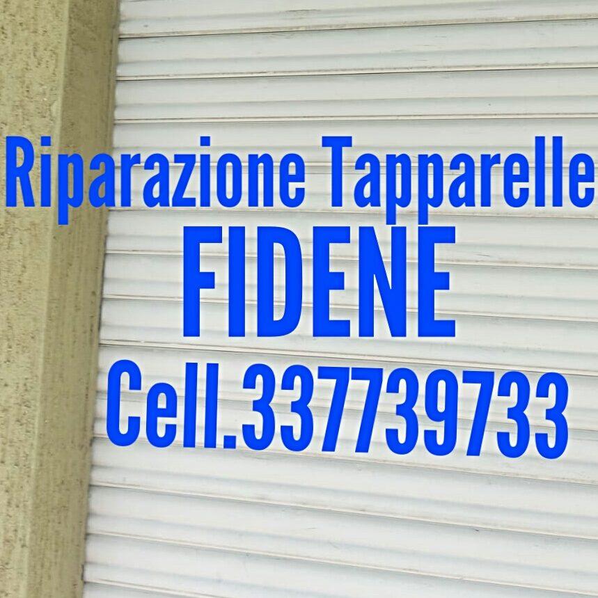 Riparazione Tapparelle Fidene cell 337739733