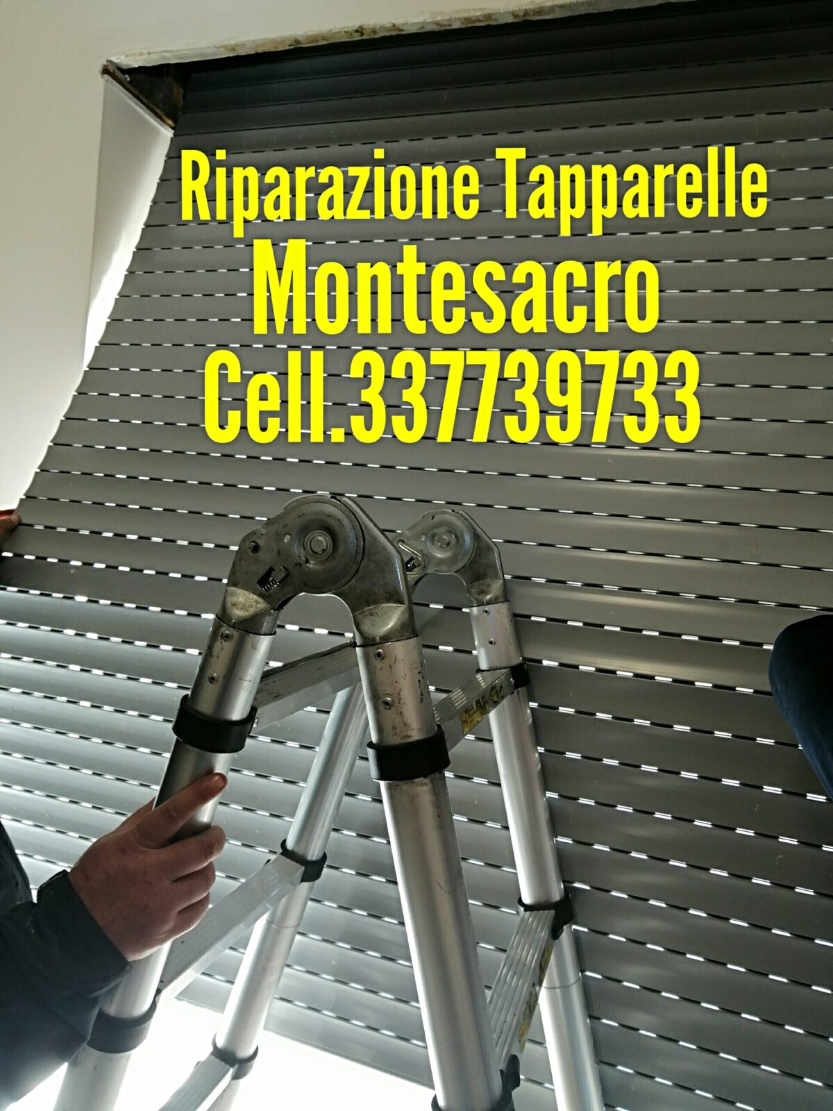 riparazione tapparelle serrande elettriche Talenti Montesacro , Dario cell.337739733
