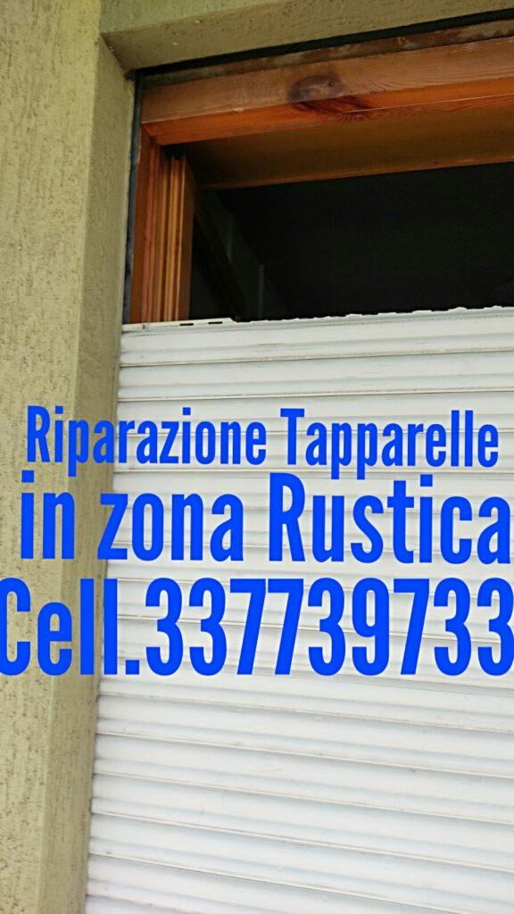Riparazione tapparelle RUSTICA cell 337739733 Dario