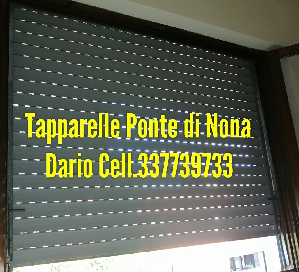 Riparazione Tapparelle Serrande Avvolgibili  Elettriche o manuali a cinta Ponte di Nona a ROMA EST .  Dario  cell 337739733