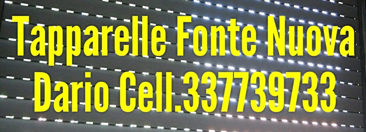 RIPARAZIONE SERRANDE FONTE NUOVA ROMA cell.337739733 Dario