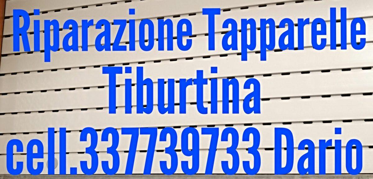 Riparazione Tapparelle Tiburtina cell. 337739733 Dario