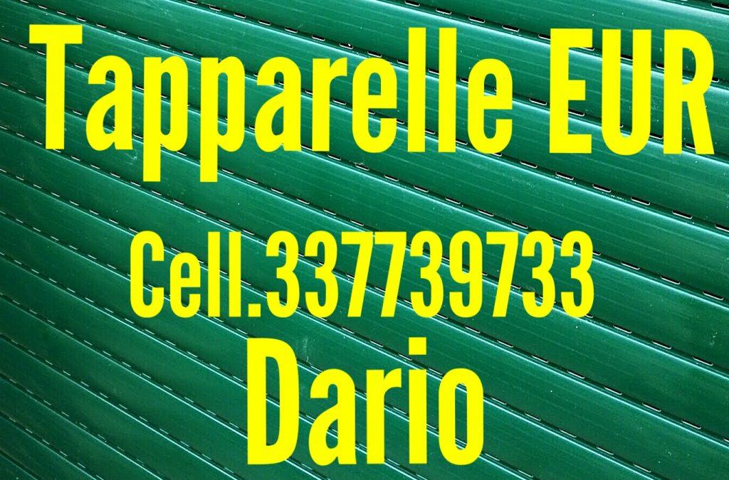Riparazione tapparelle serrande elettriche EUR cell.337739733 Dario